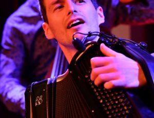 l'accordéoniste Grégory en concert au club de Jazz Bémol 5 à Lyon