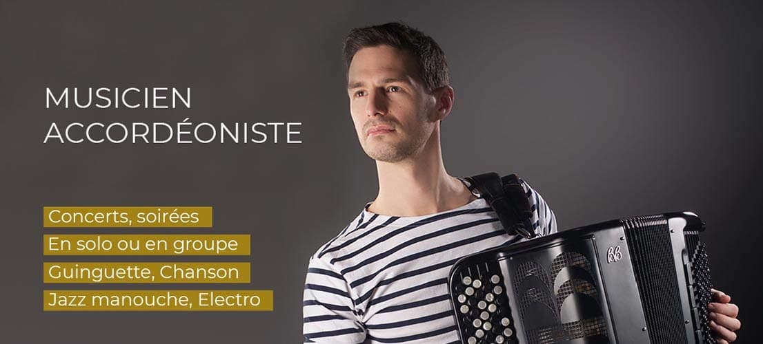Grégory Chauchat musicien accordéoniste