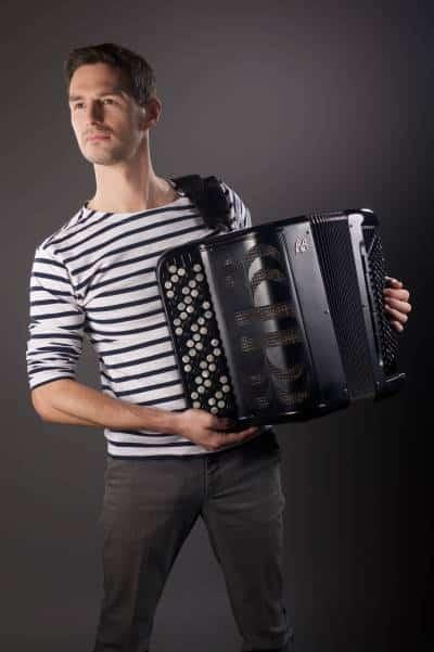 Grégory Chauchat shooting accordéon