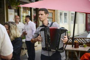 Grégory Chauchat accordéoniste en solo