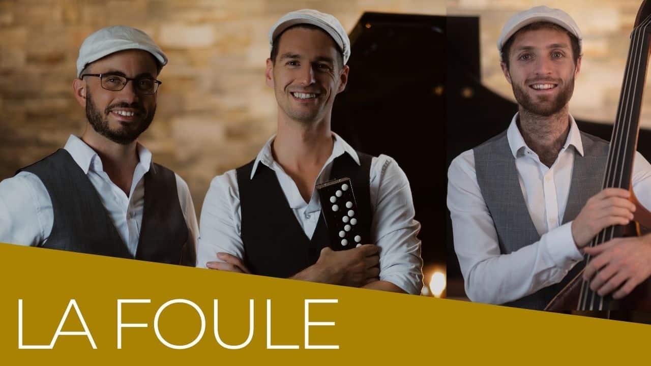 vignette la foule Trio Jazz Manouche