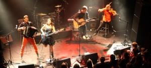 groupe de chanson française aux influences folk et trad.