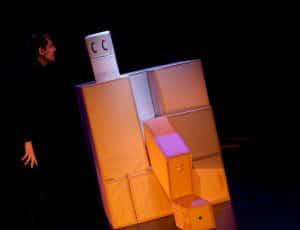 spectacle Tibou Tipatapoum comédien Frédéric