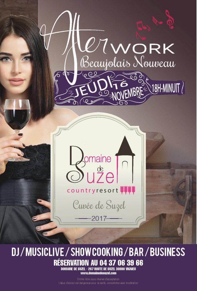 afterwork domaine de suzel beaujolais