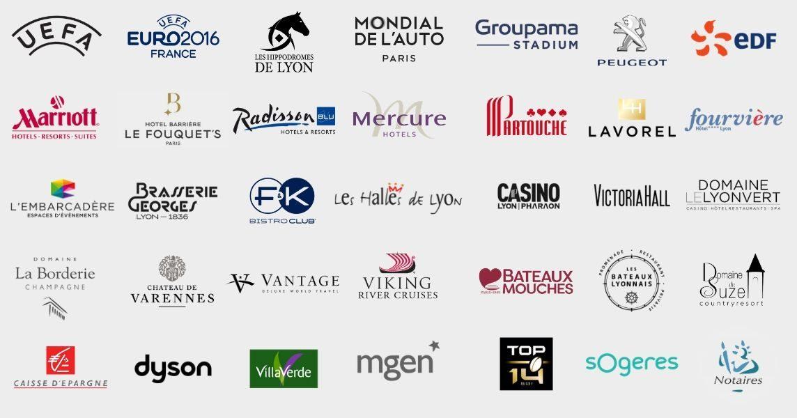 Bandeau references Clients de Lyon Paris et Genève
