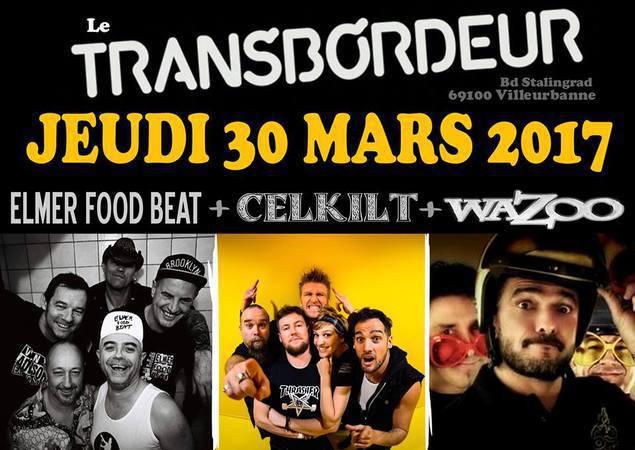 concert Wazoo au Transbordeur