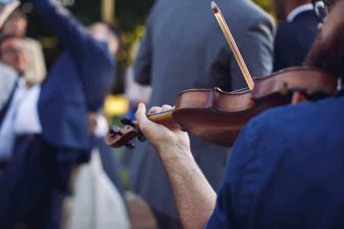 groupe de jazz manouche avec violoniste
