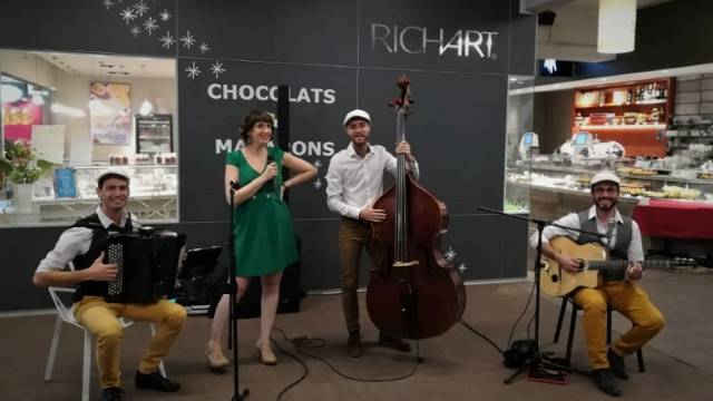 groupe jazz manouche avec chant
