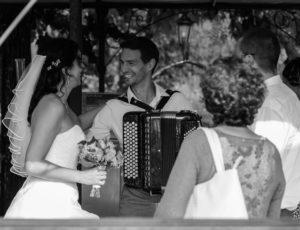 La mariée et l'accordéoniste