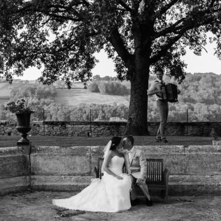 mariage accordéoniste guinguette