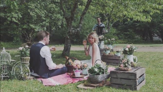 mariage ambiance guinguette à l'accordéon