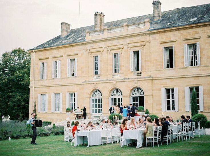 mariage chateau plein air accordeon