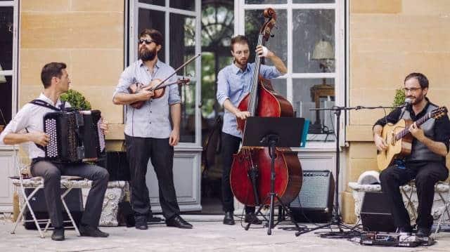 musiciens jazz manouche mariage