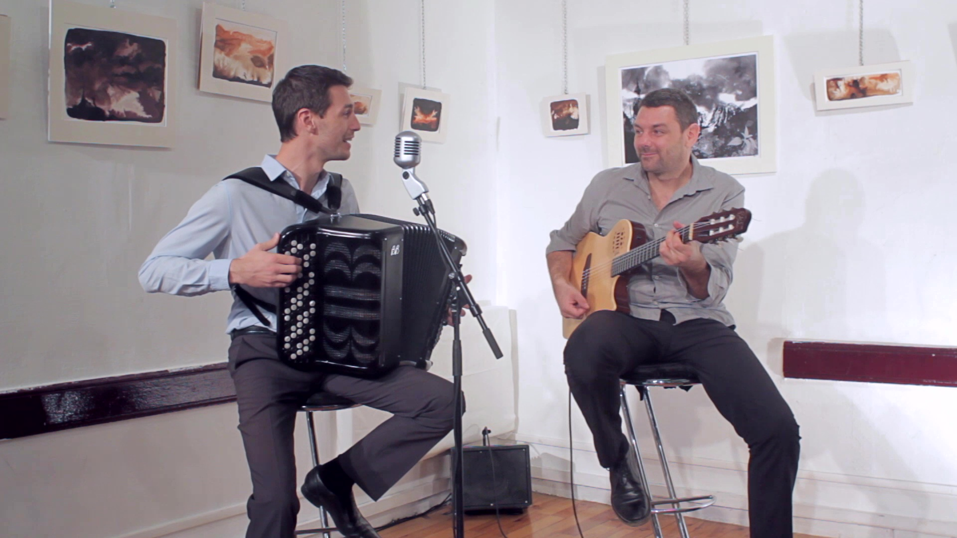 Jazz manouche - duo accordéon guitare