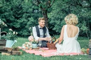 un mariage champetre réussi avec un accordeon