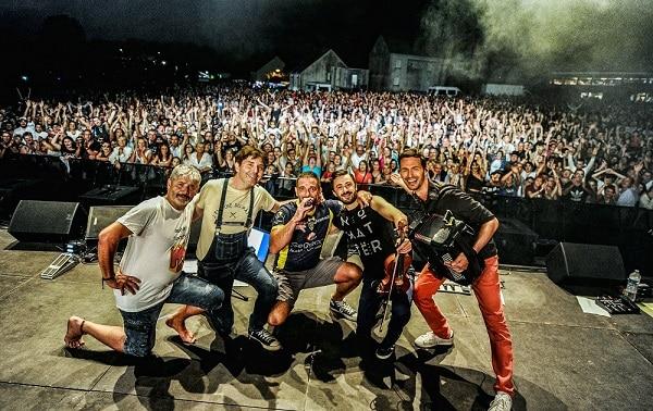 wazoo en concert à Tronget face à 18000 personnes